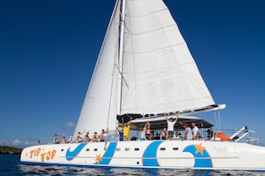 All Inclusive Sailing and Snorkeling Tour by Catamaran