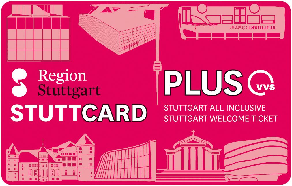 StuttCard Plus − Stuttgart-Welcome-Ticket