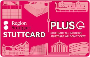 StuttCard Plus - Stuttgart welcome ticket