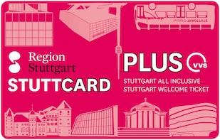 StuttCard Plus: welkomstticket voor Stuttgart