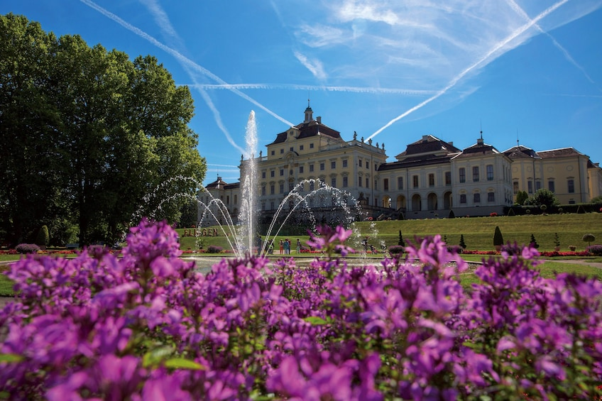Day view of Ludwigsburg Palace in Germany