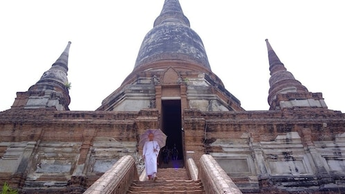 Buddhist temple in Ayutthaya near Bangkok