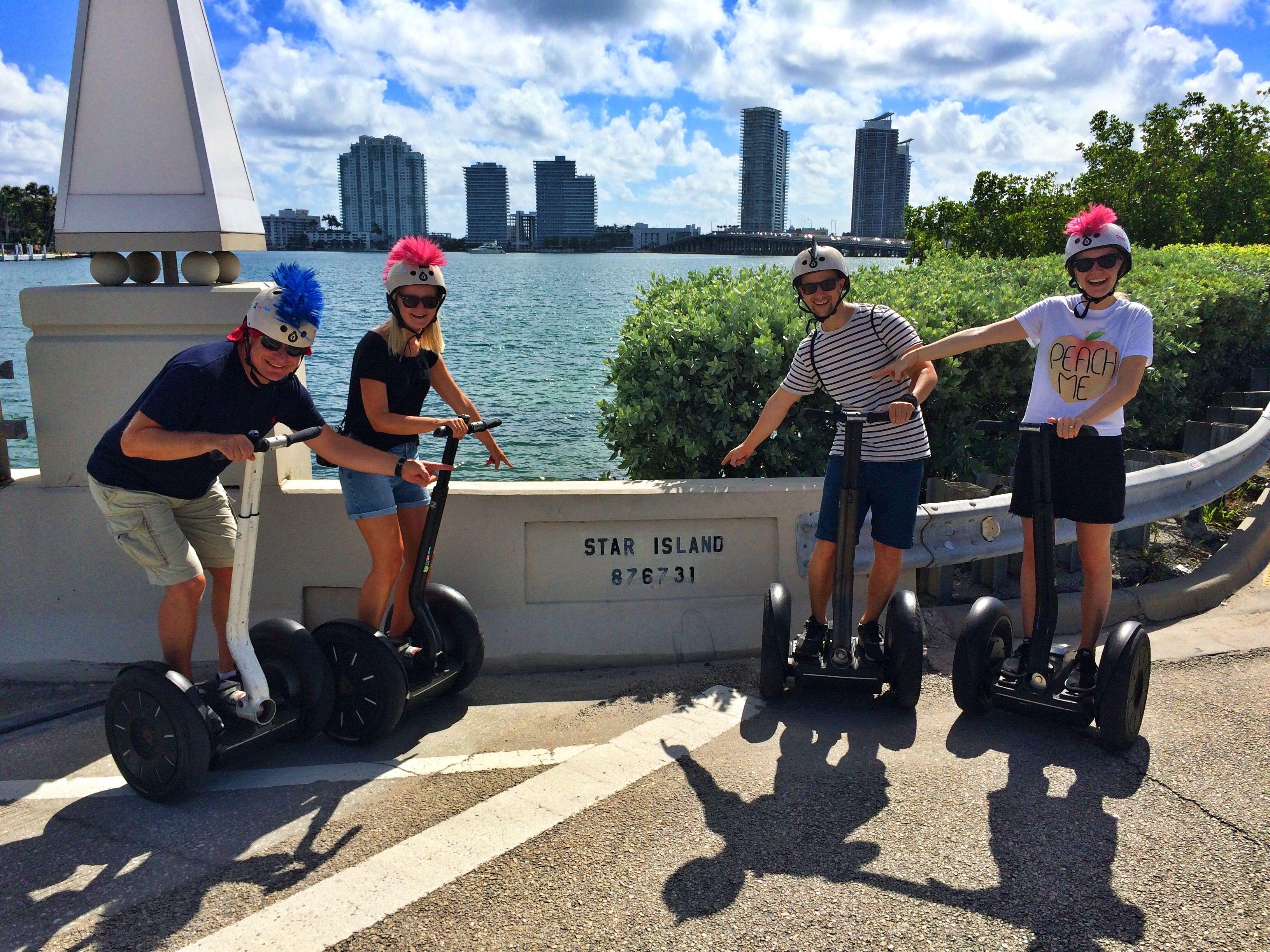 Miami Beach Art Deco Segway Tour