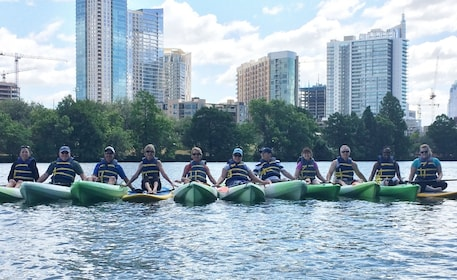 Downtown to Barton Springs Guided Kayak Tour