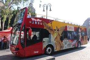 Turibus-stadstur i Mexico City, med hop-on/hop-off