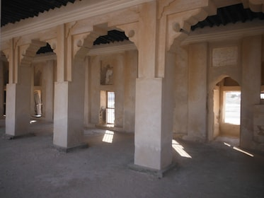 Columns of a building in Al Khor