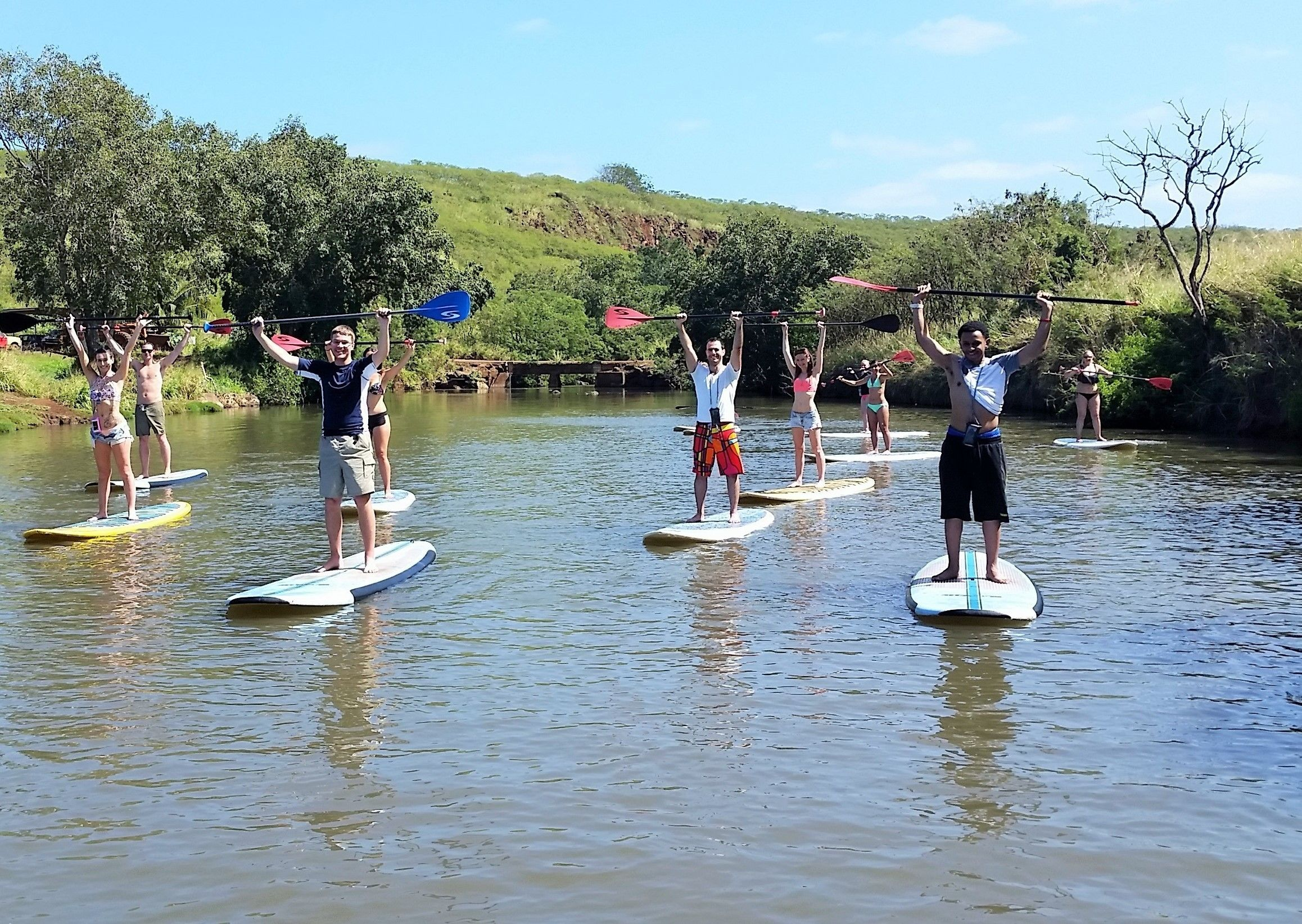 Haleiwa Stand Up Paddle Board Nature and Turtle Tour