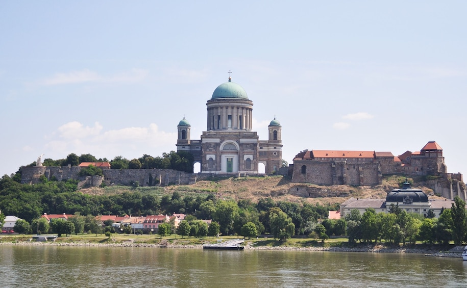 Basilica of Esztergom in Hungary