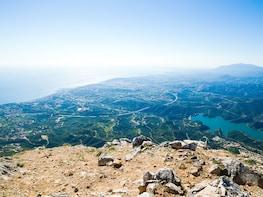 Senderismo en los picos de Marbella