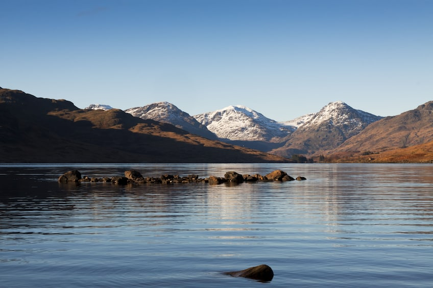 Lake and mountains in Ireland