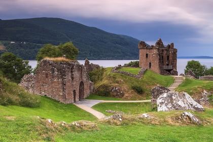 Urquhart Castle on Loch Ness in Ireland