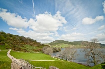 Field and Loch Ness in Ireland