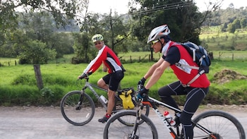 Mountain Biking From La Calera