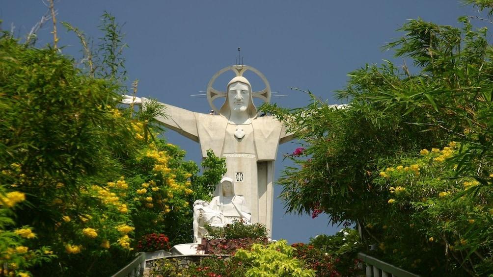 Show item 2 of 10. Christ statue in Vũng Tàu