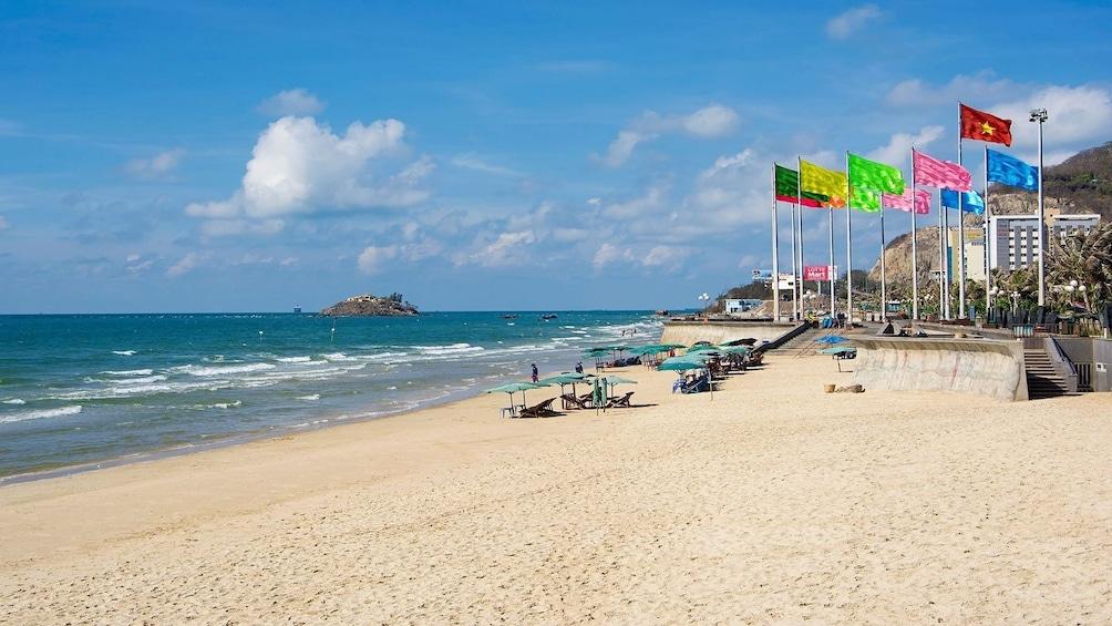 Vung Tau Beach near Ho Chi Minh City