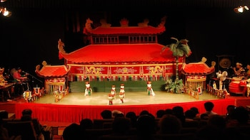 Ho Chi Minh City By Night with Vietnamese Water Puppets Show