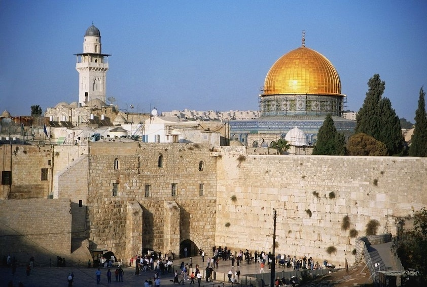 Show item 2 of 6. Golden Dome of the Rock in Jerusalem