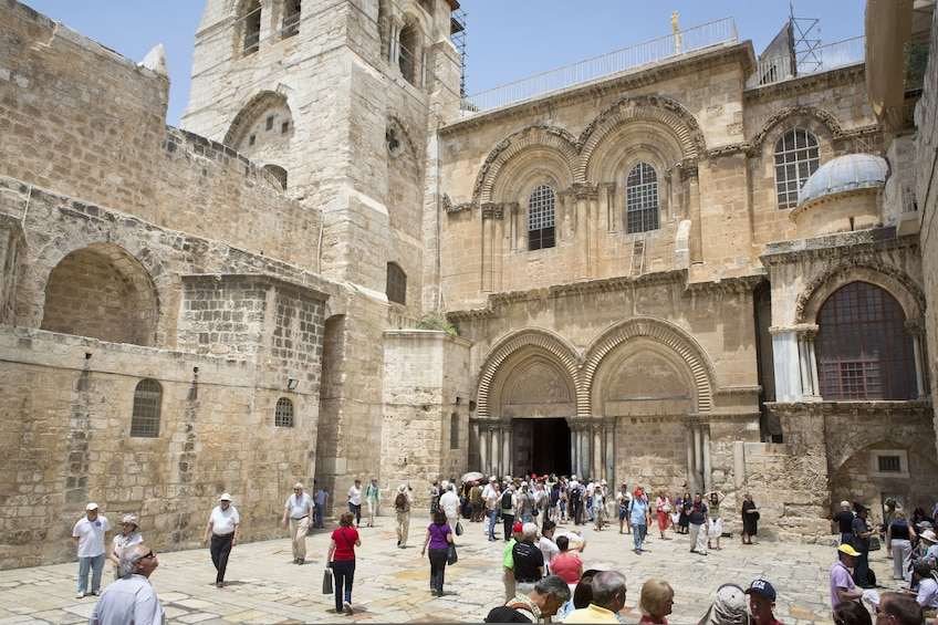 Show item 5 of 6. Church of the Holy Sepulchre in Jerusalem