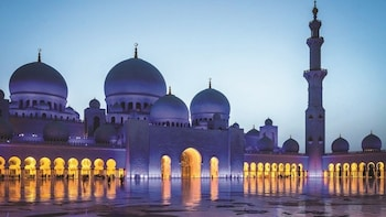 Abu Dhabi Grand Mosque & Ferrari World Tour from Dubai