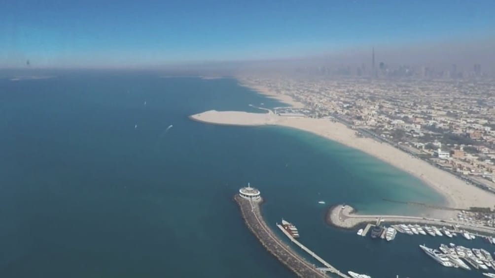 Show item 3 of 8. Helicopter tour from Dubai with Gray Line