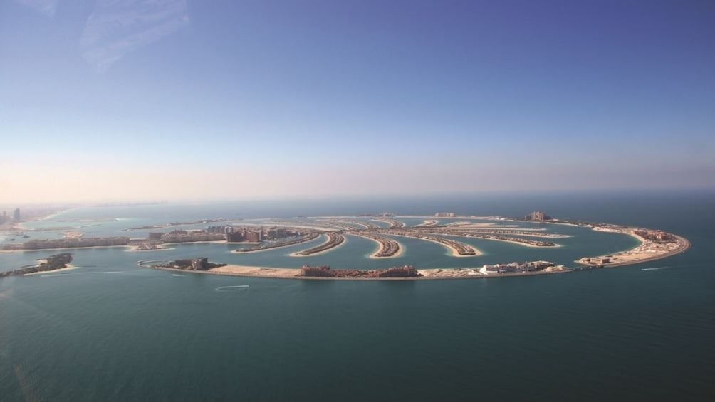 Show item 2 of 8. Helicopter tour from Dubai with Gray Line