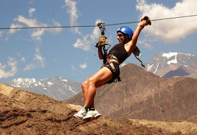 Zip-Line Base in Mendoza