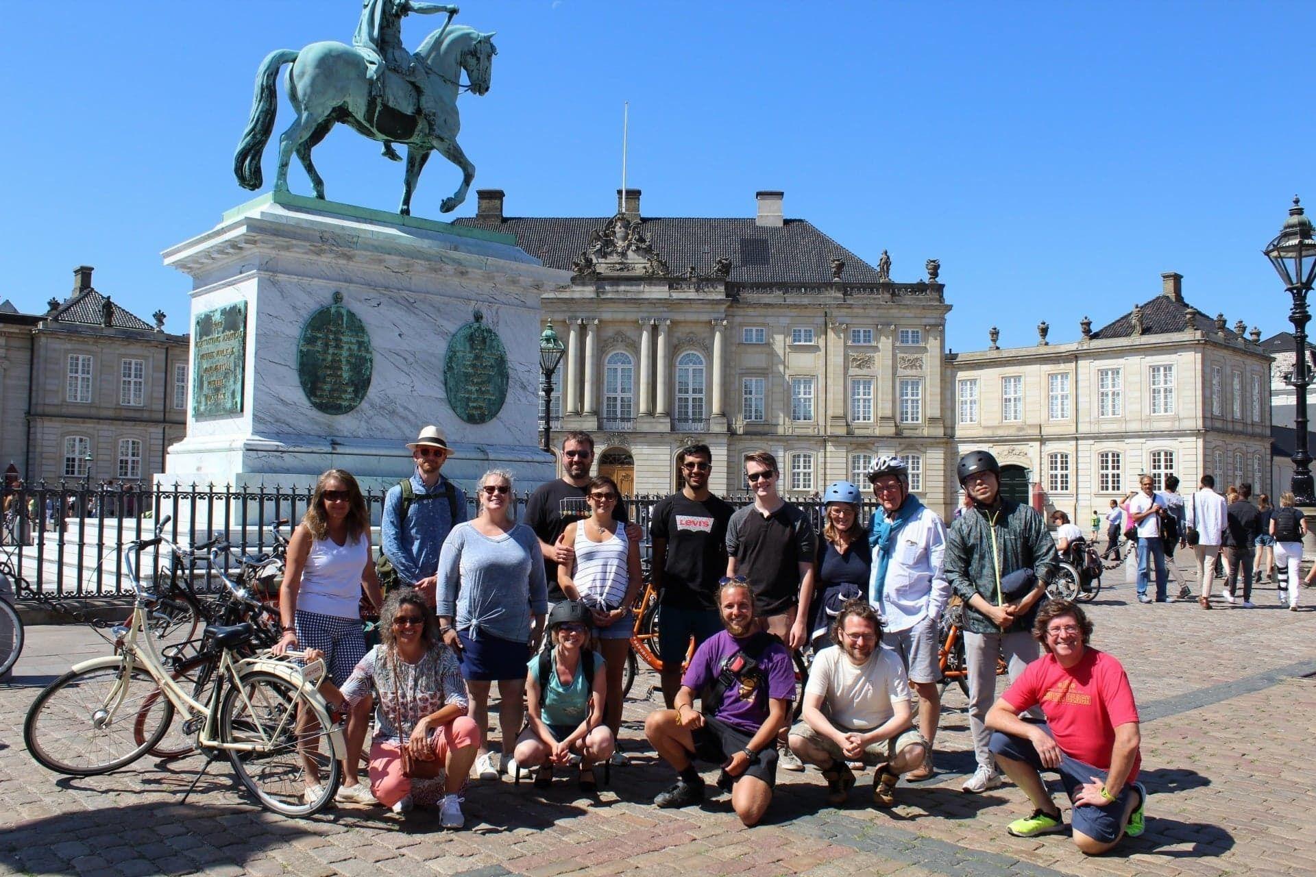 Bike tour in Amalienborg