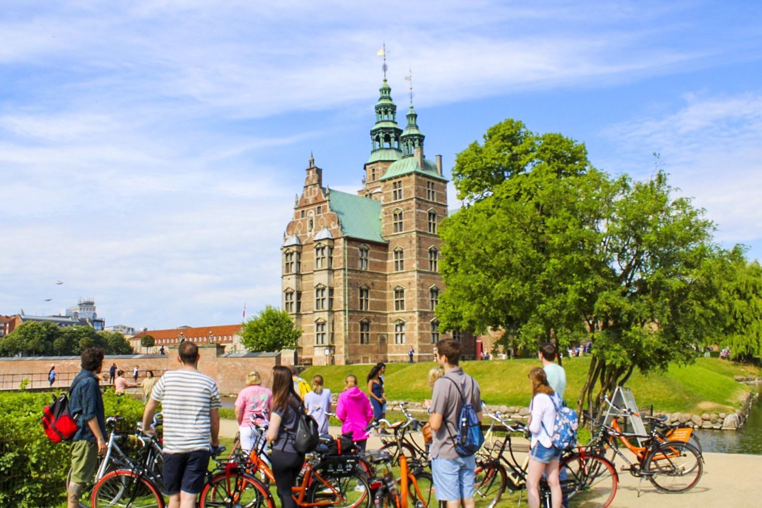 Group admires architecture in Copenhagens