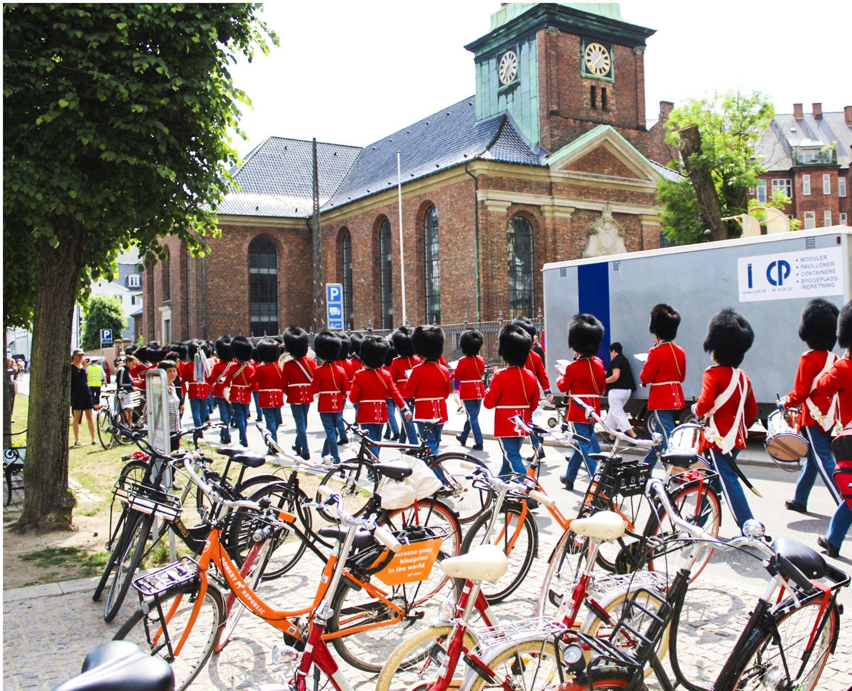 Bikes in Copenhagens