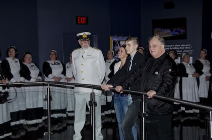 Group visit to the Titanic Museum Attraction in Tennessee