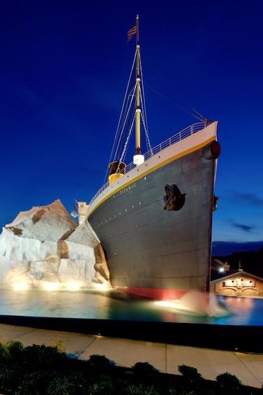 Show item 10 of 10. Titanic replica