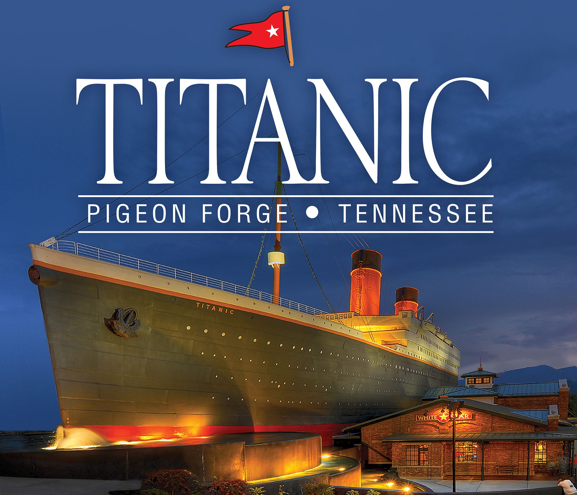 TITANIC Museum Attraction - Great Smoky Mountains Tennessee