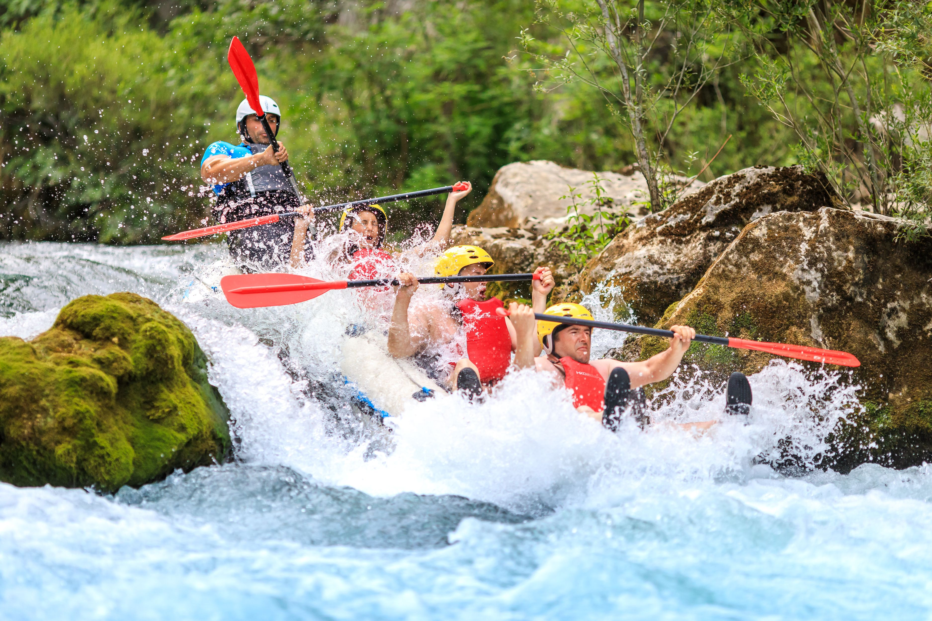 Half day Extreme Rafting tour from Split