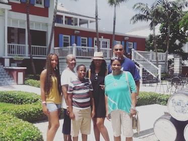 Family photo in Nassau