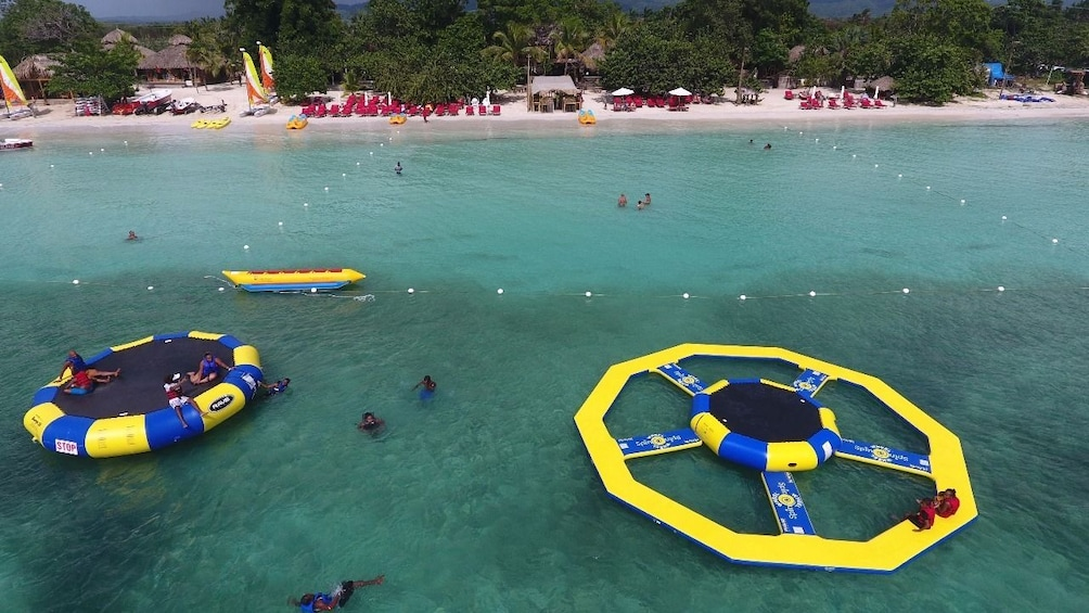 Show item 2 of 7. Jump Island inflatable water park