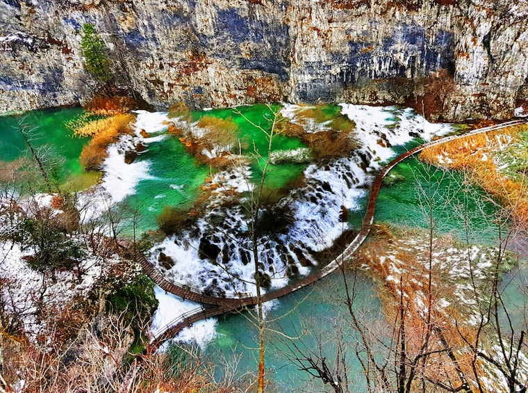 Show item 1 of 5. Plitvice lakes