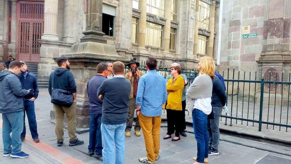 Show item 1 of 10. Street tour of Quito