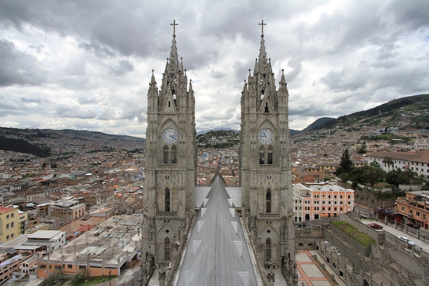 Show item 2 of 10. Small Group Quito Discovery Walking Tour