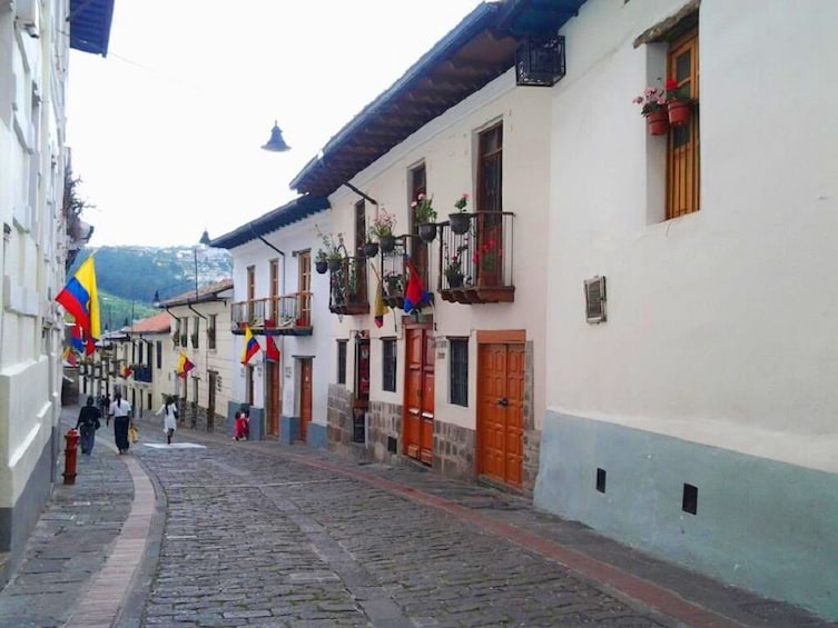 Show item 5 of 10. Streets of Quito