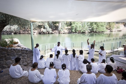 Group baptism in Israel