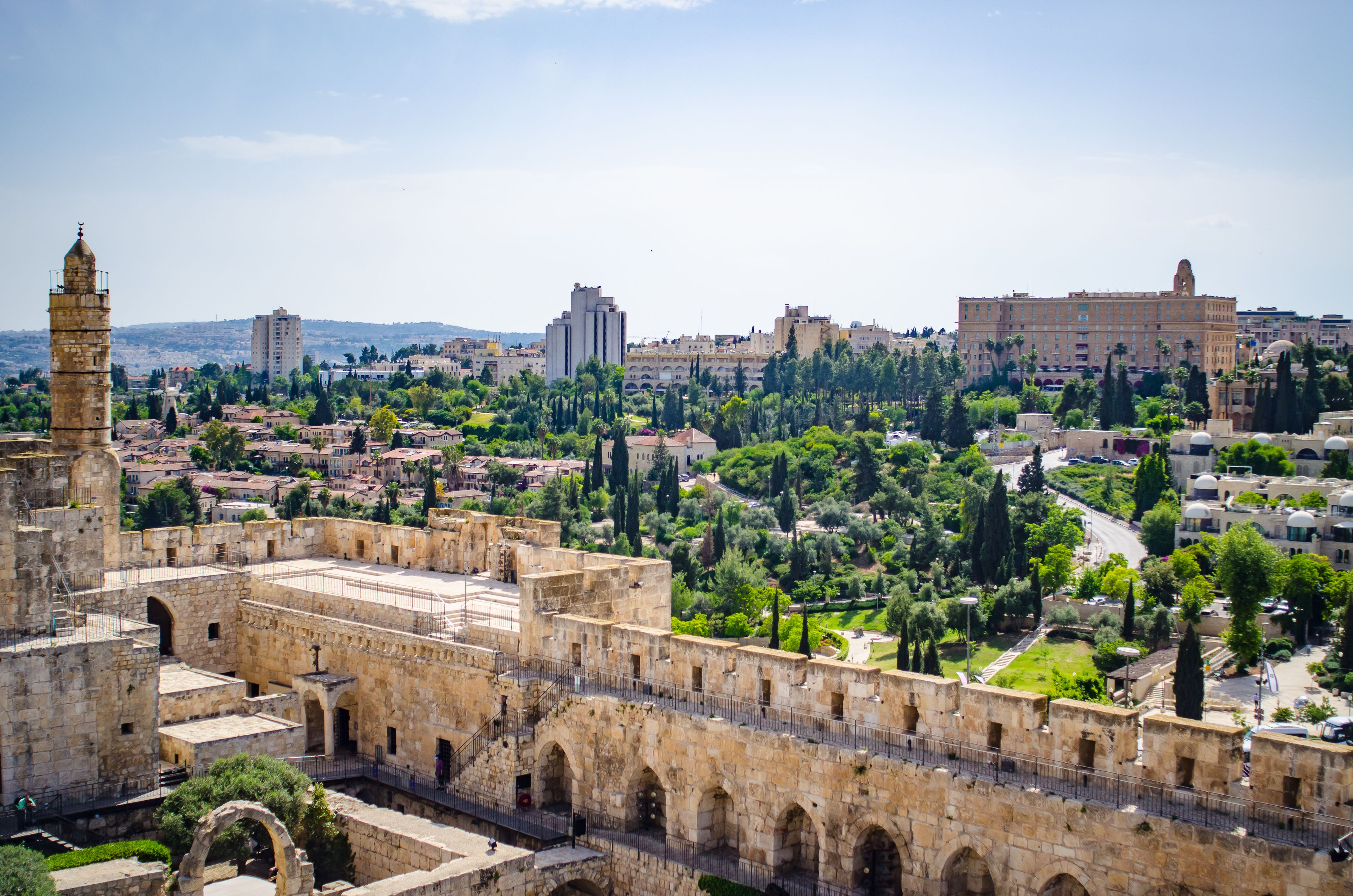 Jerusalem Old and New Day Tour from Tel Aviv