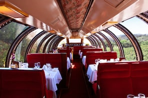 Napa Valley Wine Train with Vista Dome Seating