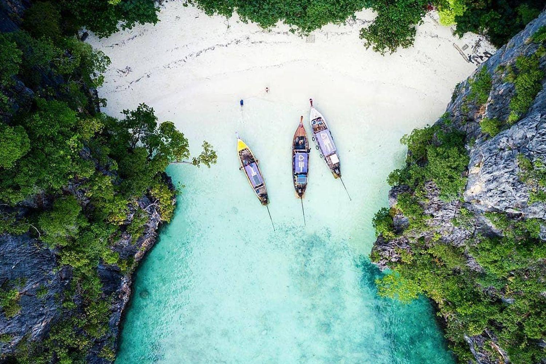 Day trip to Phi Phi island & Bamboo Island