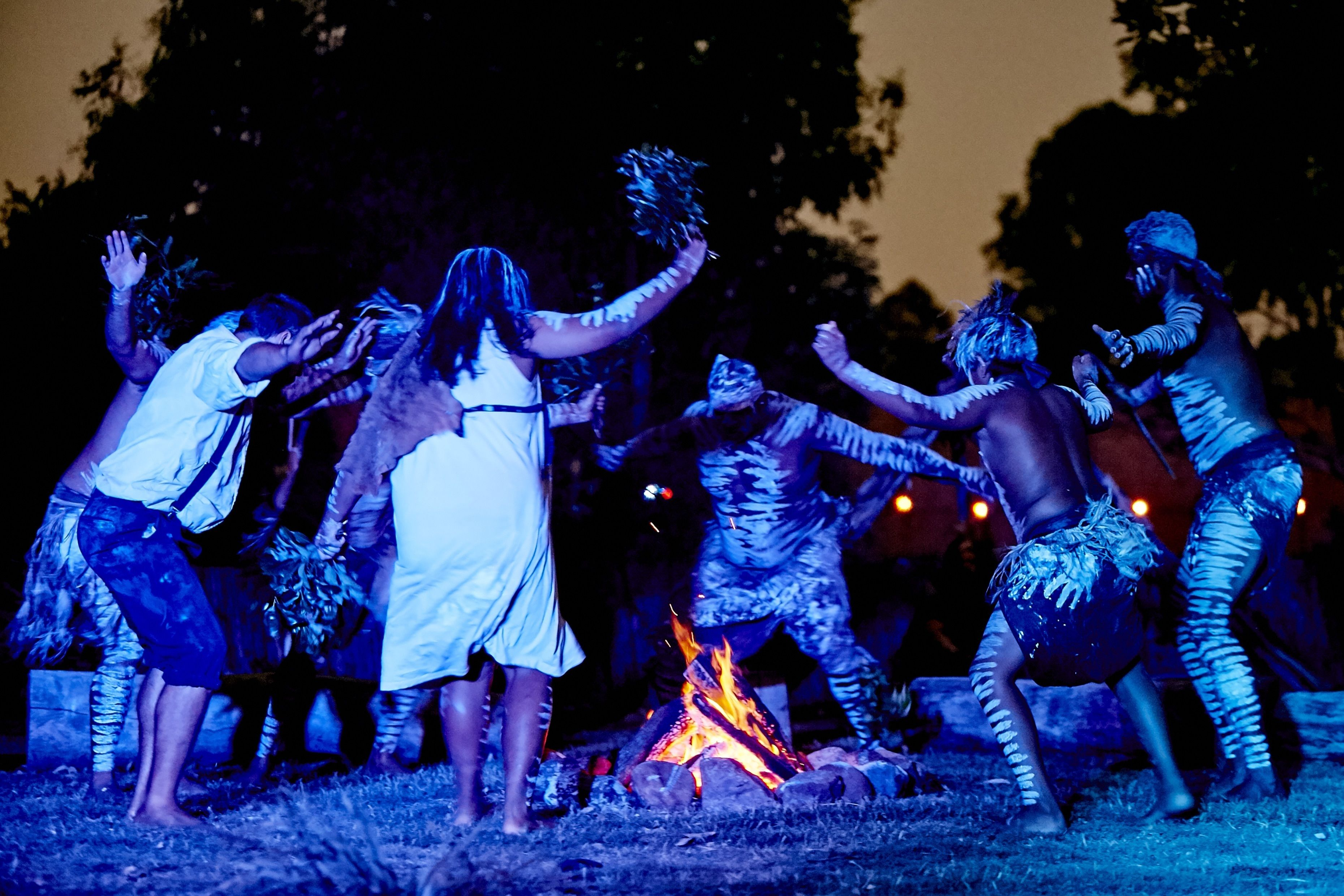 Aboriginal Live Theatre & Dinner Experience incl Transfers