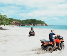 Tamarindo quad bike Snorkel Tour to Secluded Beaches - 3 Hours
