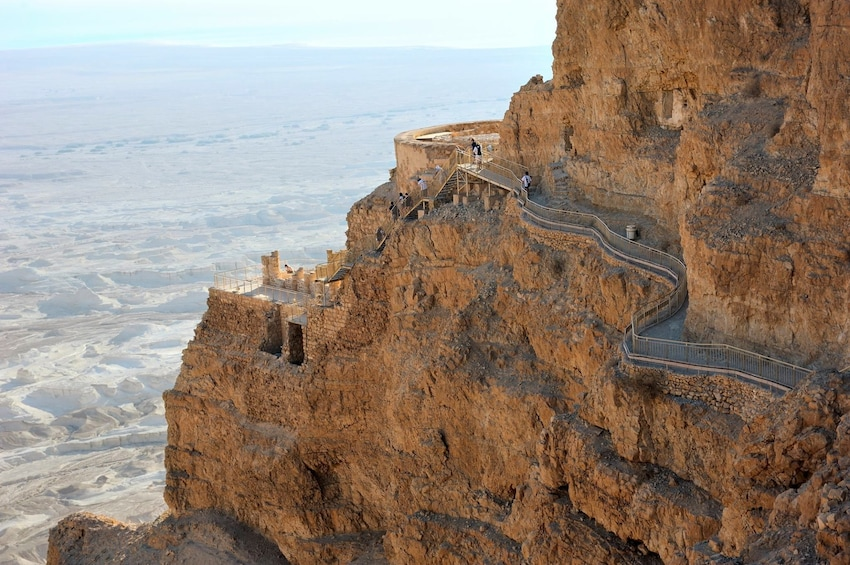 Show item 2 of 5. Day view of Masada