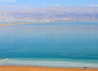 Scenic view of the Dead Sea