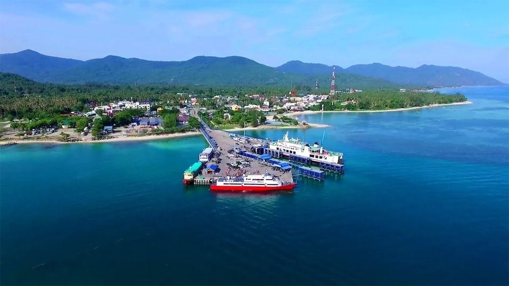 Show item 8 of 8. Ko Pha-ngan Island in Thailand