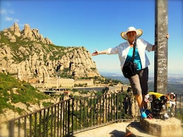 Montserrat Monastery & Natural Park from Barcelona