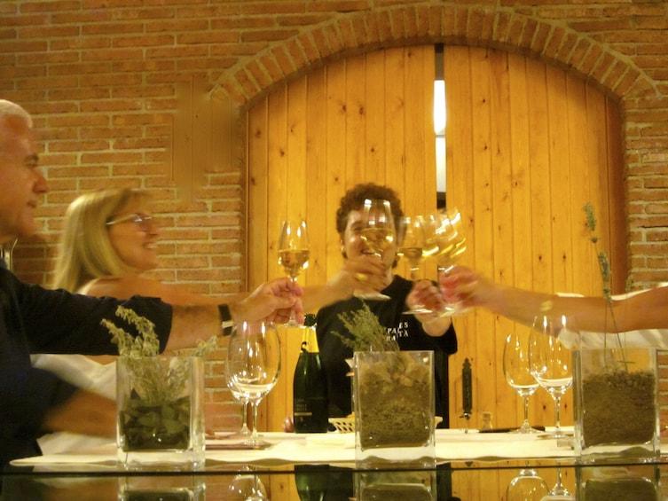 Show item 4 of 5. Horse Riding Tour in Natural Park + Wine Tasting in Penedès